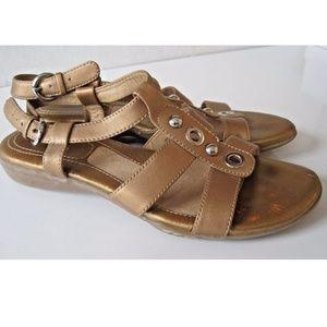 NATURALIZER Shoes Sz 7 Womens Sandals T Strap